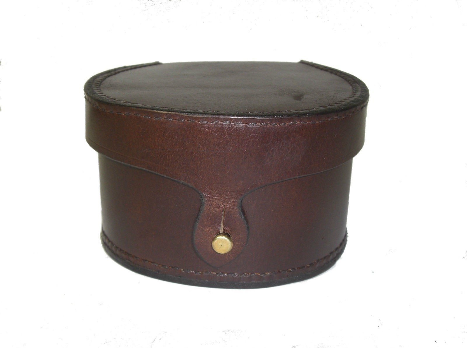 GENUINE LEATHER FISHING REEL CASE MEDIUM SIZE