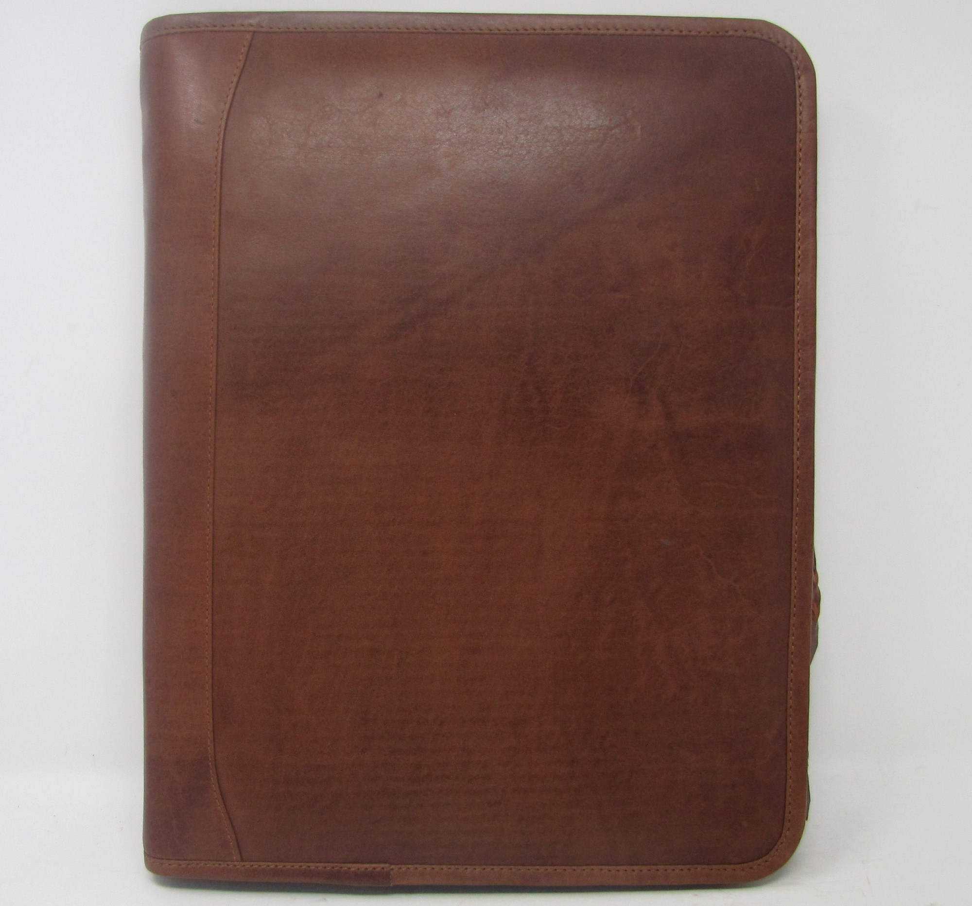 A4 FOLDER PERSONALISED LEATHER LEAVING GIFT NAME AND MESSAGE