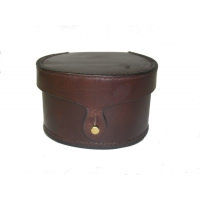 GENUINE LEATHER FISHING REEL CASE SMALL SIZE 3 1/2