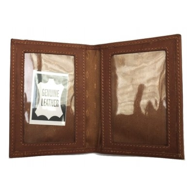 TAN LEATHER ID, OYSTER CARD LICENCE HOLDER
