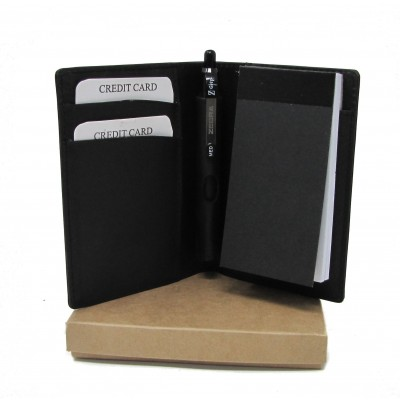 A7 PERSONALISED LEATHER NOTE BOOK GIFT