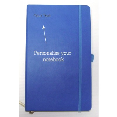 NOTEBOOK JOURNAL BLUE A5 STYLE RULED
