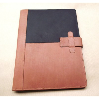 EXECUTIVE LEATHER A4 FOLDER ORGANISER PORTFOLIO