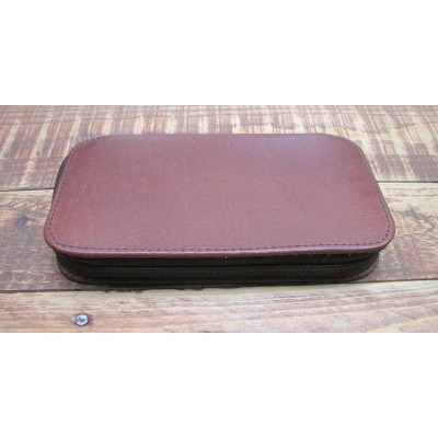 "LEATHER FISHING FLY WALLET (7"" x 4"")"
