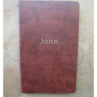NOTEBOOK JOURNAL BROWN A5 STYLE RULED