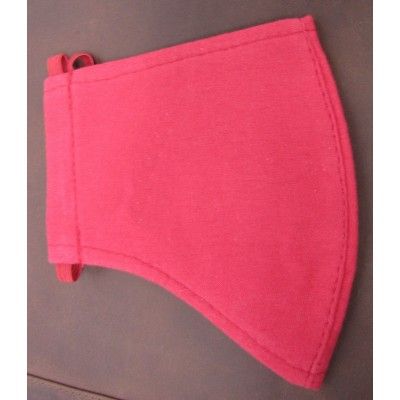 Red Face Mask Cotton (washable)